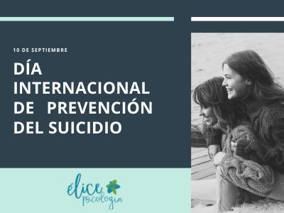 Prevención del suicidio. Élice psicología